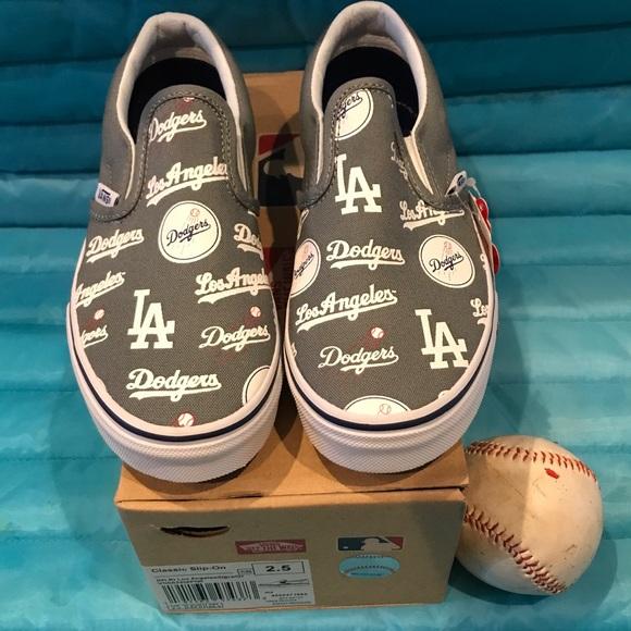 2df33318ff Vans LA Dodgers Slip-On⚾️